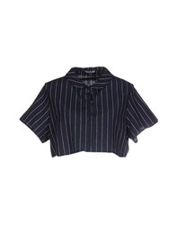 Chloe Sevigny For Opening Ceremony Shirts Shirts Women Dark Blue