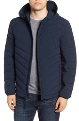 Marc New York Delavan Down Hooded Jacket Ink
