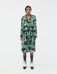 Just Female Joana Floral Dress Abstract Leaf