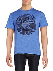 Bench Envelope Graphic Tee Dazzling Blue