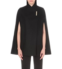 Ted Baker Core Wool Blend Cape Black