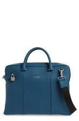 Ted Baker London Carab Document Bag Blue Navy