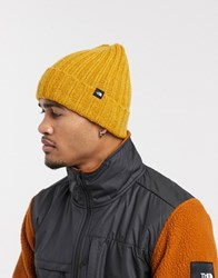 The North Face Chunky Rib Beanie In Yellow