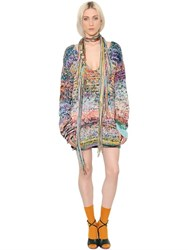 Missoni Handmade Cashmere And Wool Knit Dress