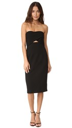 Black Halo Jada Cutout Dress Black