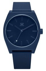 Adidas Process Silicone Strap Watch 38Mm Navy