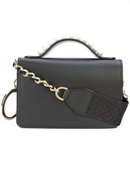 Mother Of Pearl Jude Shoulder Bag Black