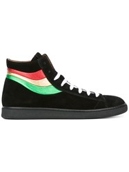 Marc Jacobs Stripe Detail Sneakers Black