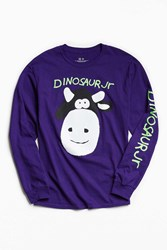 Urban Outfitters Dinosaur Jr. Cow Long Sleeve Tee Purple