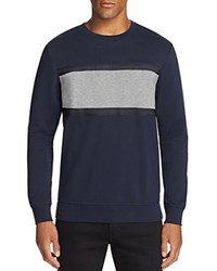 Antony Morato Color Block Stripe Sweatshirt Deep Blue