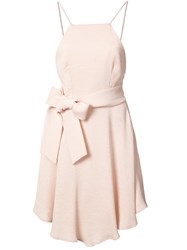 C Meo Collective Bow Detail Dress Pink Purple