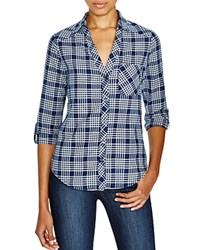 Soft Joie Cydnee Plaid Shirt Peacoat