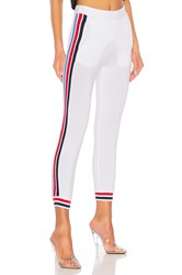 Stateside State Track Pant White