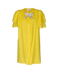 Daniele Carlotta Short Dresses Yellow