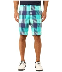 Loudmouth Golf Freeport Shorts Mint Men's Shorts Green