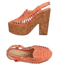 Ouigal Sandals Salmon Pink