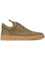 Filling Pieces Lane Gum Sneakers Green