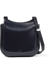 The Row Hunting 9 Patent Leather Shoulder Bag Navy