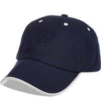 Vilebrequin Cotton Turtle Emblem Cap Navy
