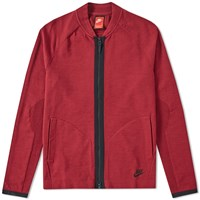 Nike Tech Knit Bomber Red