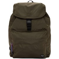 Paul Smith Ps By Green Nylon Zebra Backpack