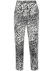 Escada Tapered Abstract Pattern Trousers 60