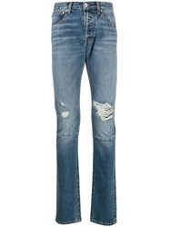 Unravel Project Vintage Chaos Jeans Blue
