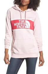 The North Face Edge To Edge Logo Hoodie Sweatshirt Burnished Lilac Heather