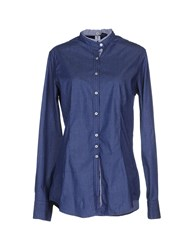 Etichetta 35 Denim Denim Shirts Women Blue