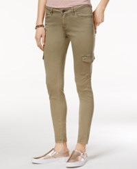 Roxy Juniors' Skinny Cargo Pants Oil Green