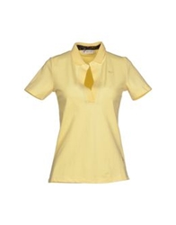 Piero Guidi Polo Shirts Yellow