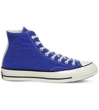 Converse All Star High Top Canvas Trainers Amparo Blue Egret