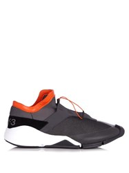 Y 3 Future Low Top Slip On Trainers Grey Multi