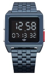 Adidas Archive Digital Bracelet Watch 36Mm Navy Black Navy