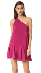 Amanda Uprichard Rhodes Dress Cranberry