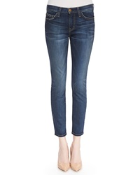 Current Elliottt The Stiletto Townie Faded Slim Cropped Jeans