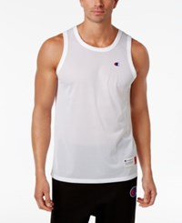 Champion Men's Mesh Tank Top White