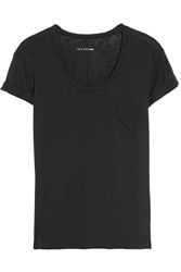 Rag And Bone The Pocket Tee Jersey T Shirt Black