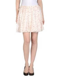 Girl By Band Of Outsiders Mini Skirts Ivory