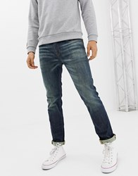 Selected Homme Slim Stretch Fit Organic Cotton Jeans Blue