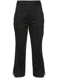 Marissa Webb Cropped Lace Hem Trousers Unavailable