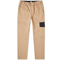 Kenzo Tapered Cropped Cargo Pant Brown