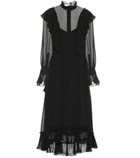 See By Chloe Crepe Dress Black