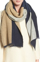 Eileen Fisher Women's Colorblock Cotton Blend Scarf
