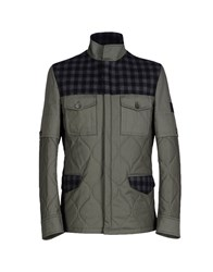 Richmond Denim Coats And Jackets Jackets Men Military Green