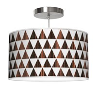 Jefdesigns Triangle 1 Pendant Light