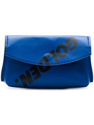 Golden Goose Deluxe Brand Clutch Blue