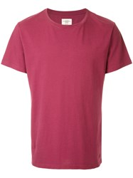 Kent And Curwen Classic T Shirt Cotton Xxl Red
