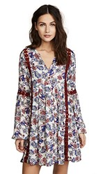 Ella Moss Folktale Floral Tunic Cover Up Spice