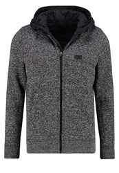 Abercrombie And Fitch Light Jacket Black Mottled Grey